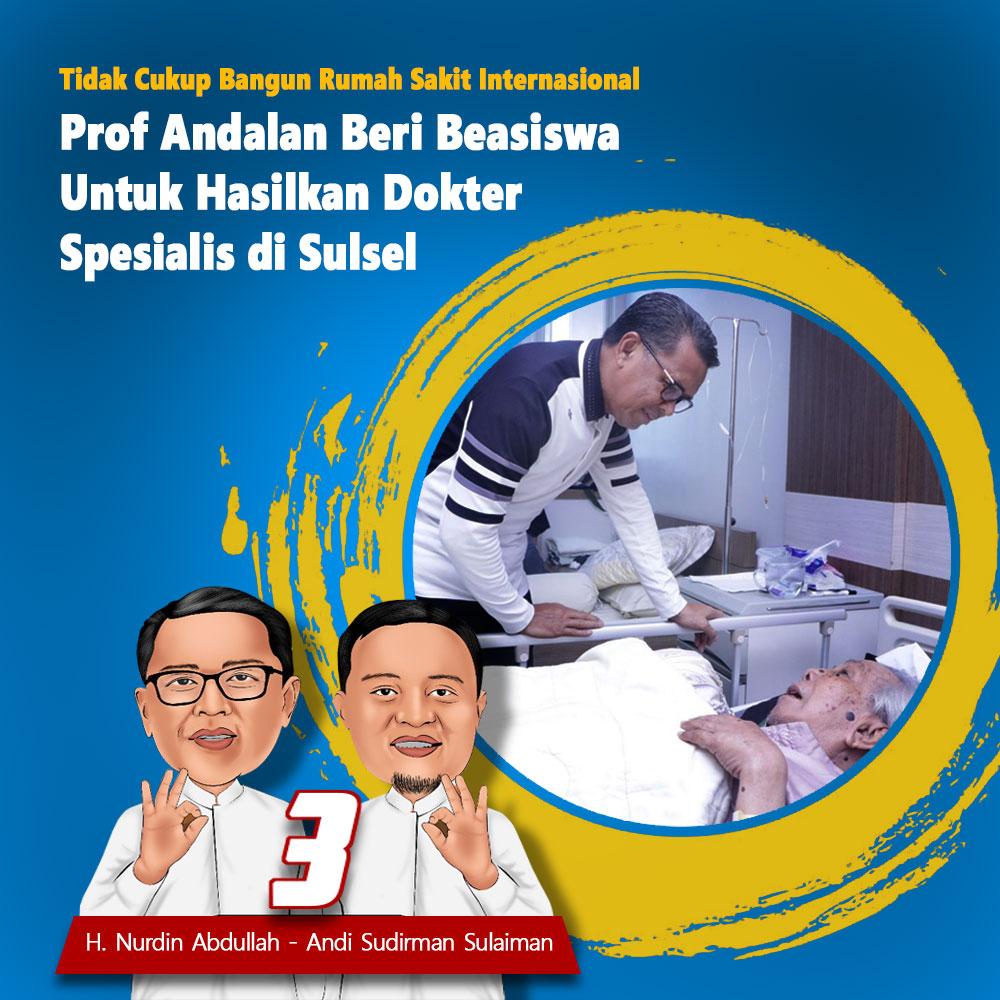 prof-andalan-beri-beasiswa-hasilkan-dokter-spesialis-di-sulsel