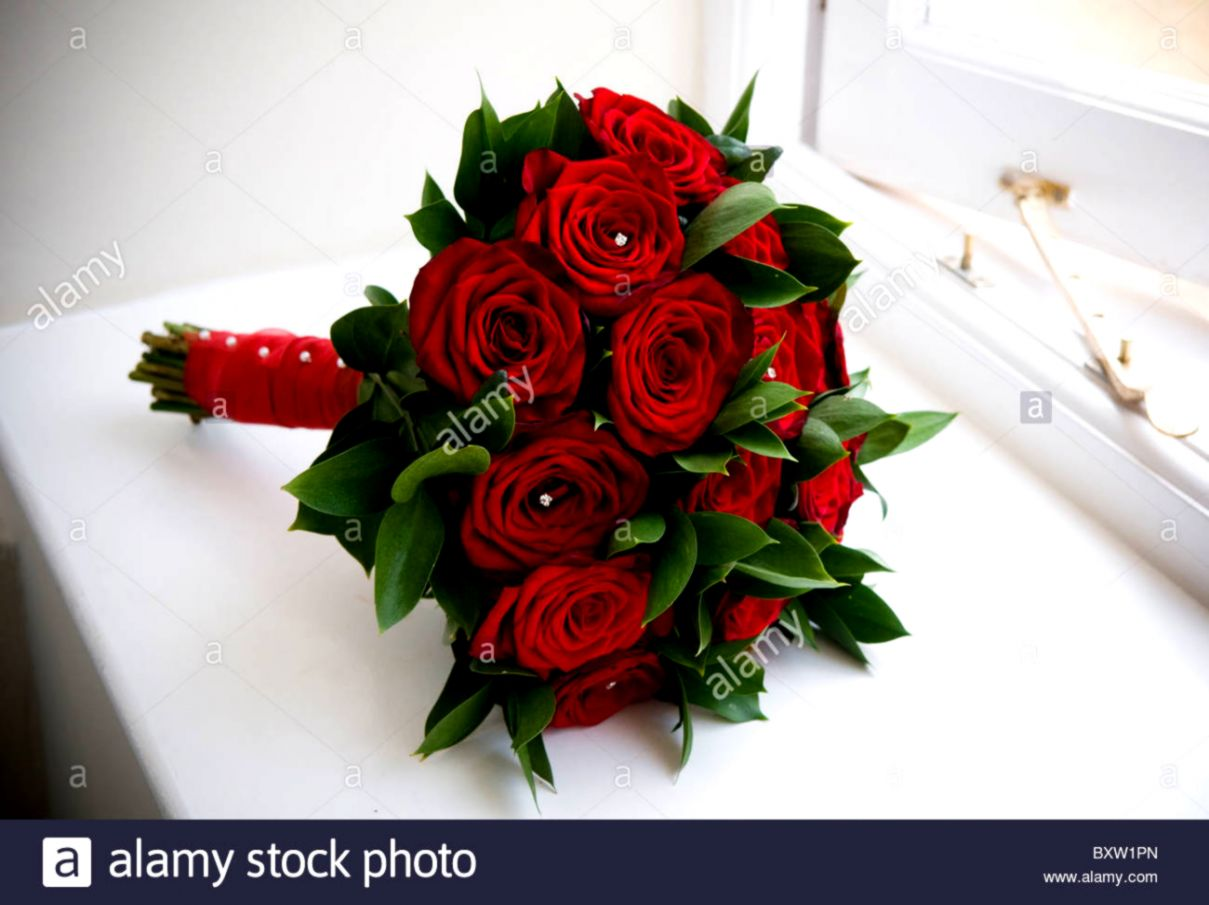 Red Roses Wedding Bouquets.Red Roses Wedding Bouquet Wallpapers Book