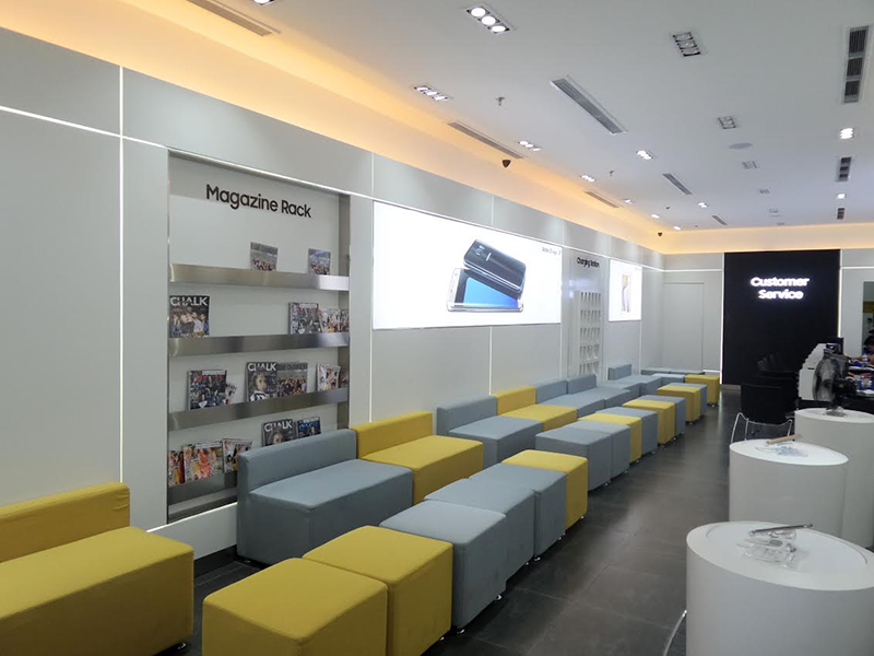 Samsung Opens Their Biggest Service Center For Mobile In SM North EDSA!
