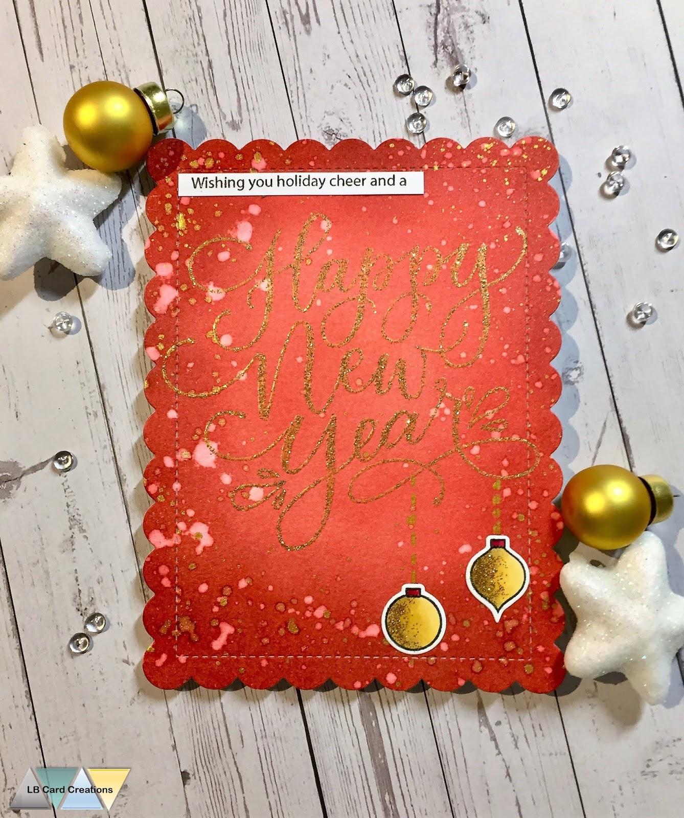 LB Card Creations: Christmas Card #25   Mama Elephant
