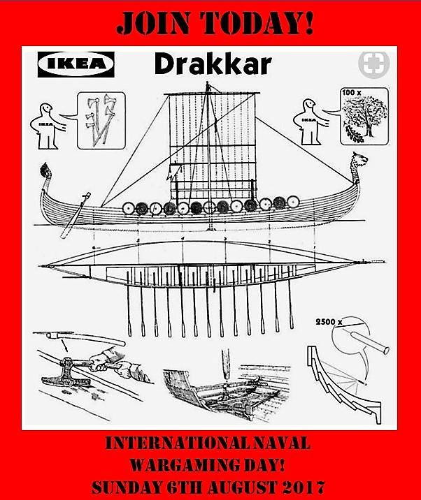 Wargaming in Sverige!: International Naval Wargaming Day 2017