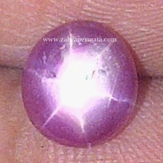 Batu Permata Ruby Star - ZP 211