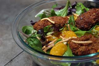 Chickpea Tender Mandarin Asian Salad 4