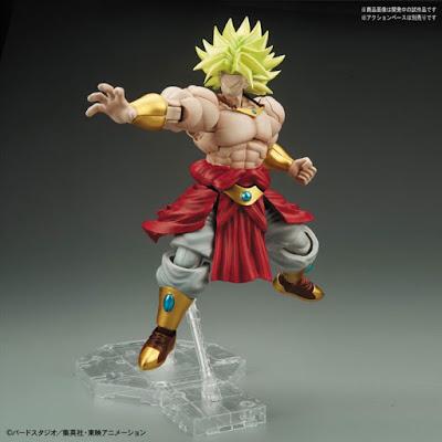 Broly SSJ Figure-Rise Standard de Dragon Ball Z - Bandai