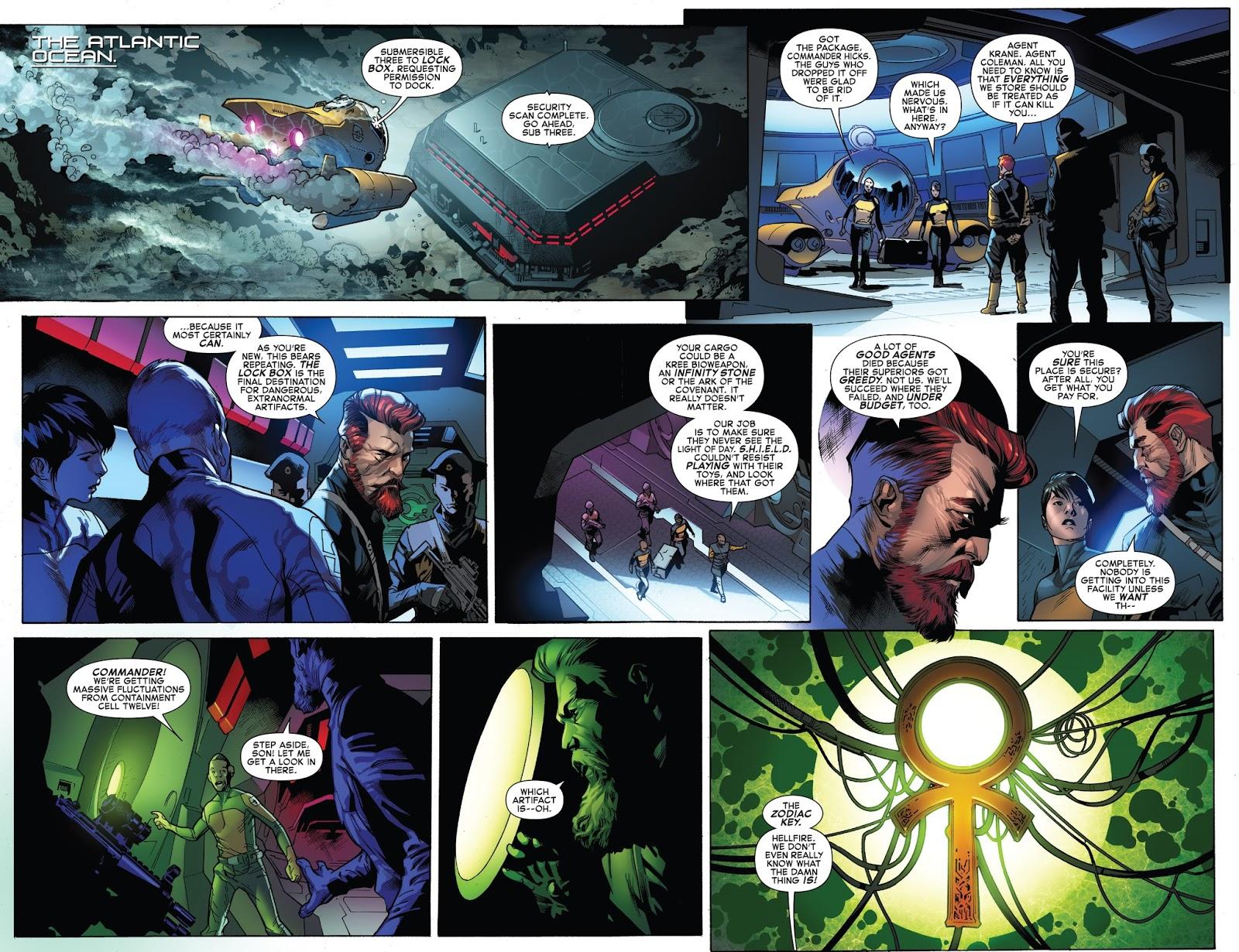 O duende verde agora vermelho universo marvel 616 descobrimos que um desses escritrios opera em uma base chamada lockbox que fica no fundo do atlntico e l eles tem estocado a chave do zodaco fandeluxe Images