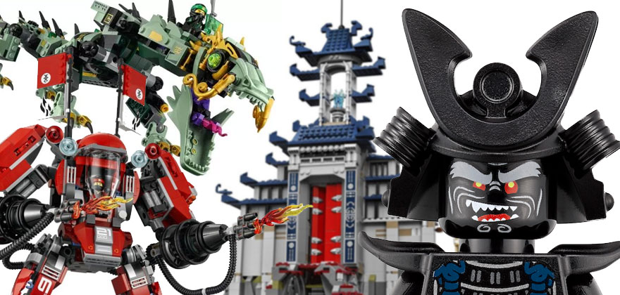 LEGO Ninja Go Movie 2017 Wave 1 set is Out Now