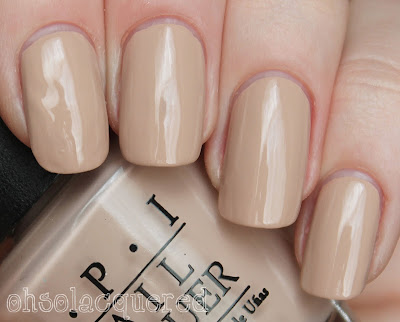 Part I: OPI Germany Collection for Fall 2012 Swatches & Review