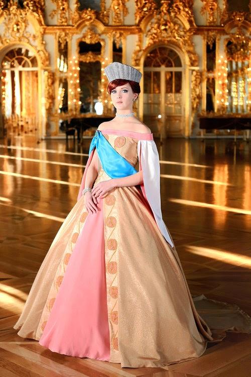 Anastasia vestido de czrina