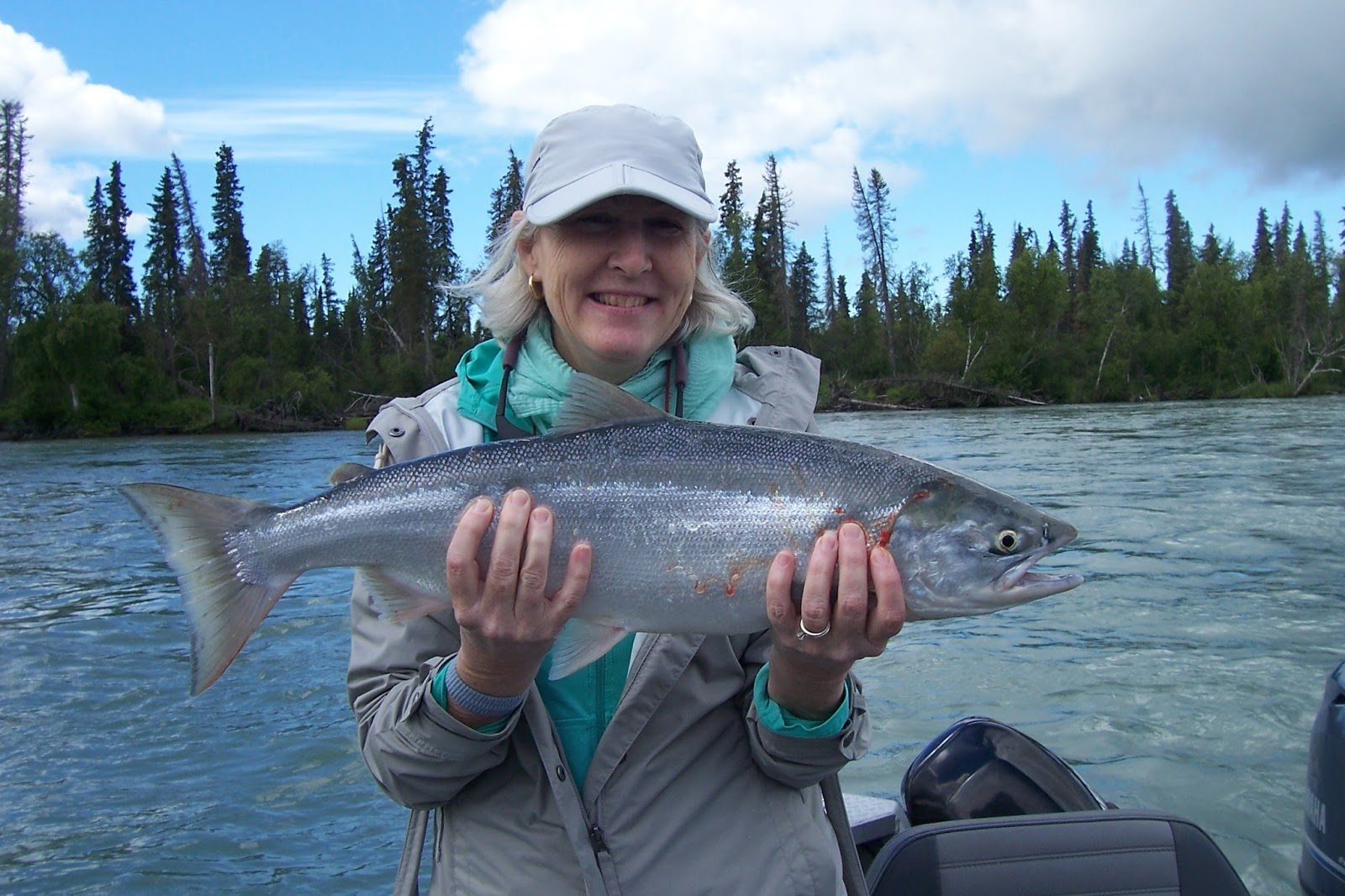 Beaver creek cabins guide service fishing report week for Fishing guide jobs