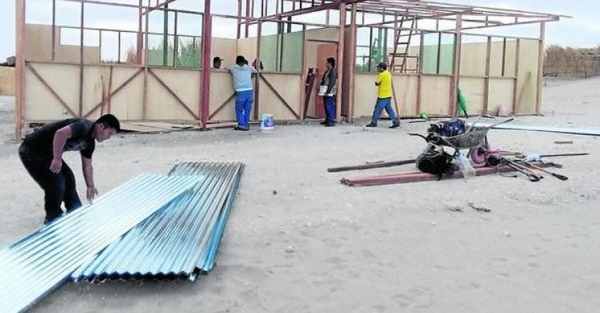 UNICEF instalará 19 aulas temporales en albergues y zonas afectadas por inundaciones en Piura