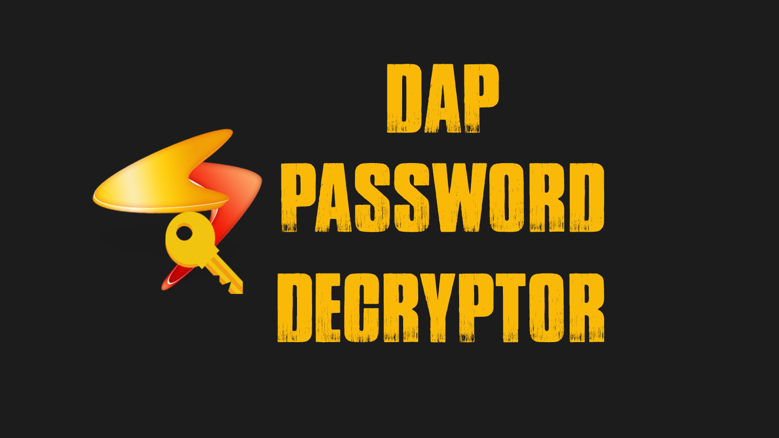 DAP Password Decryptor - Tool For Extracting Login Details From Download Accelerator Plus