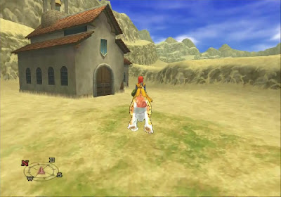Dragon Quest VIII - El Periplo del Rey Maldito - Iglesia desierto