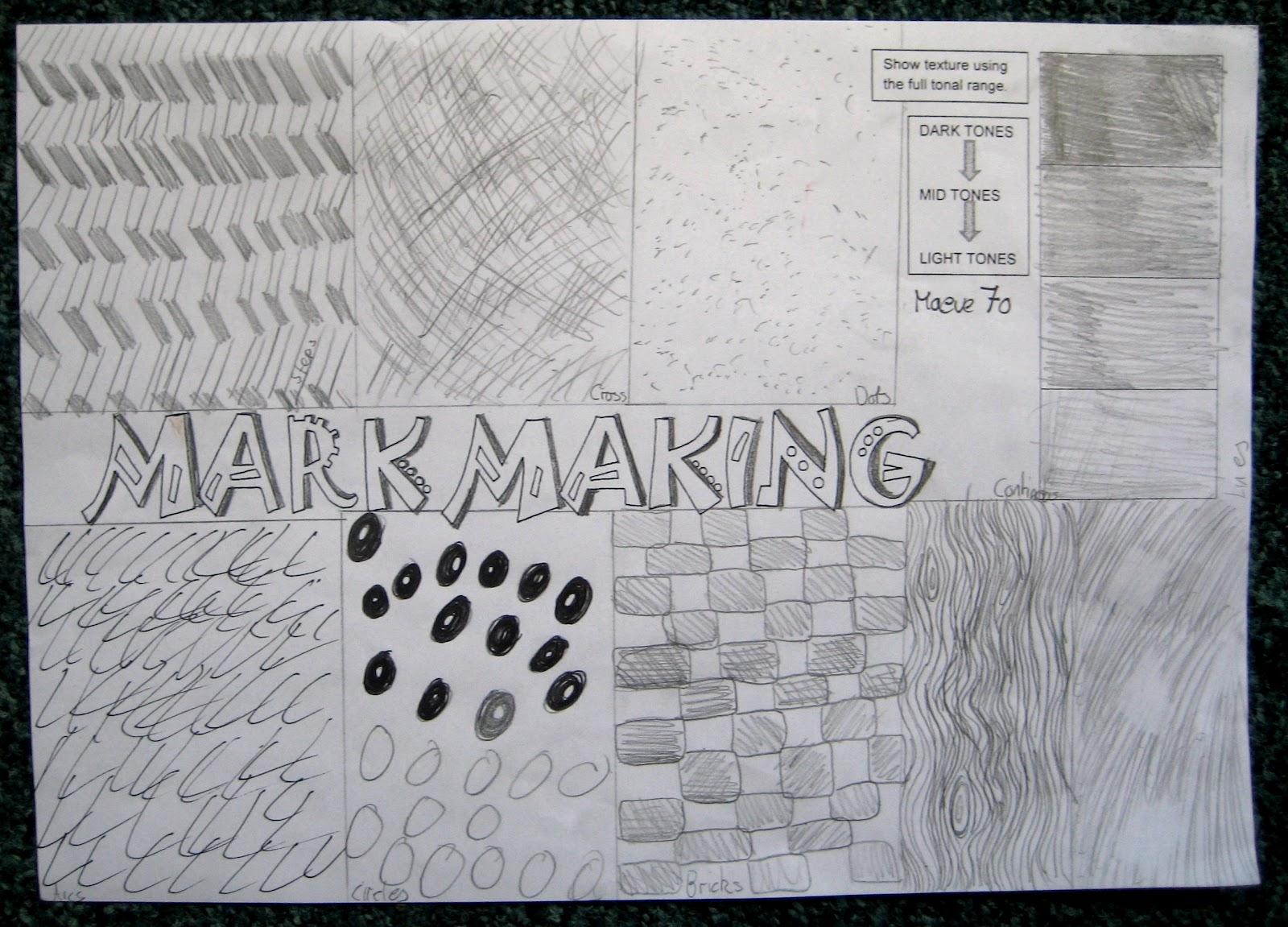 Student Artwork Year 7 My Journey To School