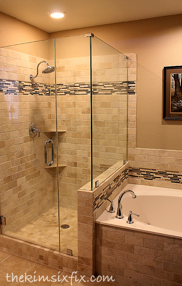 By Leaving The Shower And Tub In Their Existing Layout I