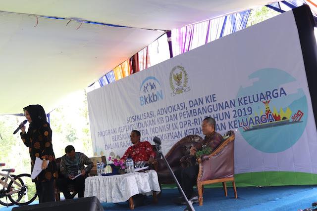 Komisi IX DPR RI Bersama BKKBN Sosialisasi Advokasi dan KIE