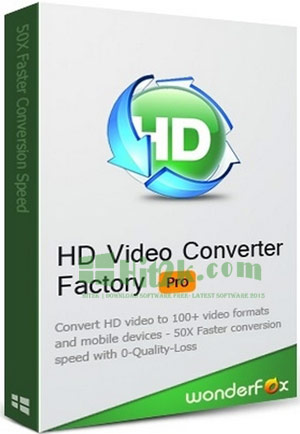 WonderFox HD Video Converter Factory Pro 12.0 Crack Full Version