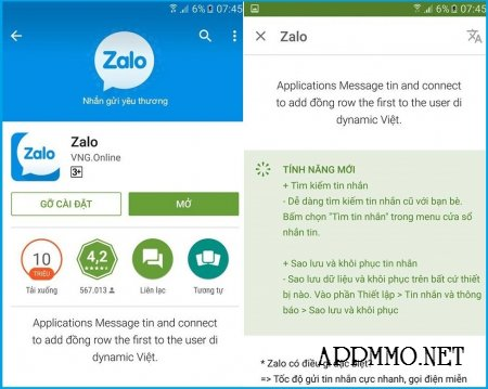 Zalo có bản cập nhật bổ sung 2 tính năng mới hữu ích