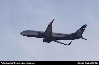 AVIÓN BOEING 737 NEXT GEN VQ-BVO