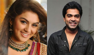 Actor Simbu Wishes Hansika on her Birthday on August 9th