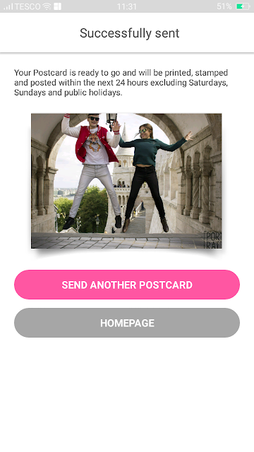 send a postcard online free