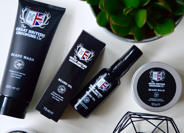 The Great British Grooming Co beard products
