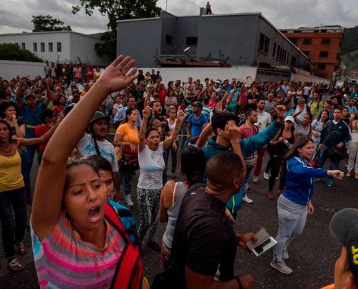 """Venezuela: Un país que late al ritmo de """"no hay"""""""