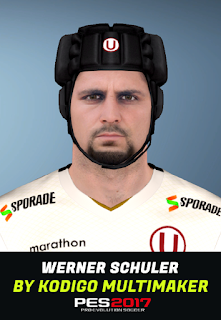 PES 2017 Faces Werner Schuler by Kodigo