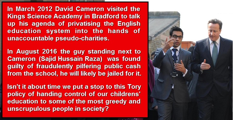 Bradford Free Education System Bought >> Another Fraud Scandal At A Tory Flagship Free School