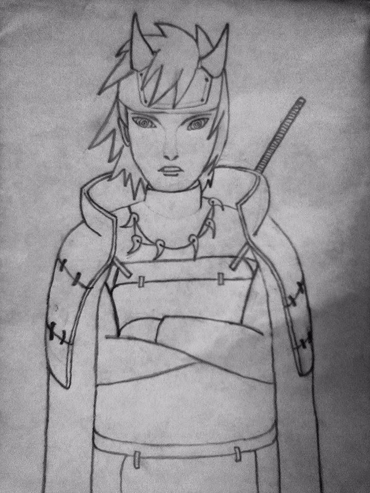 Gambar Naruto Keren Pake Pensil