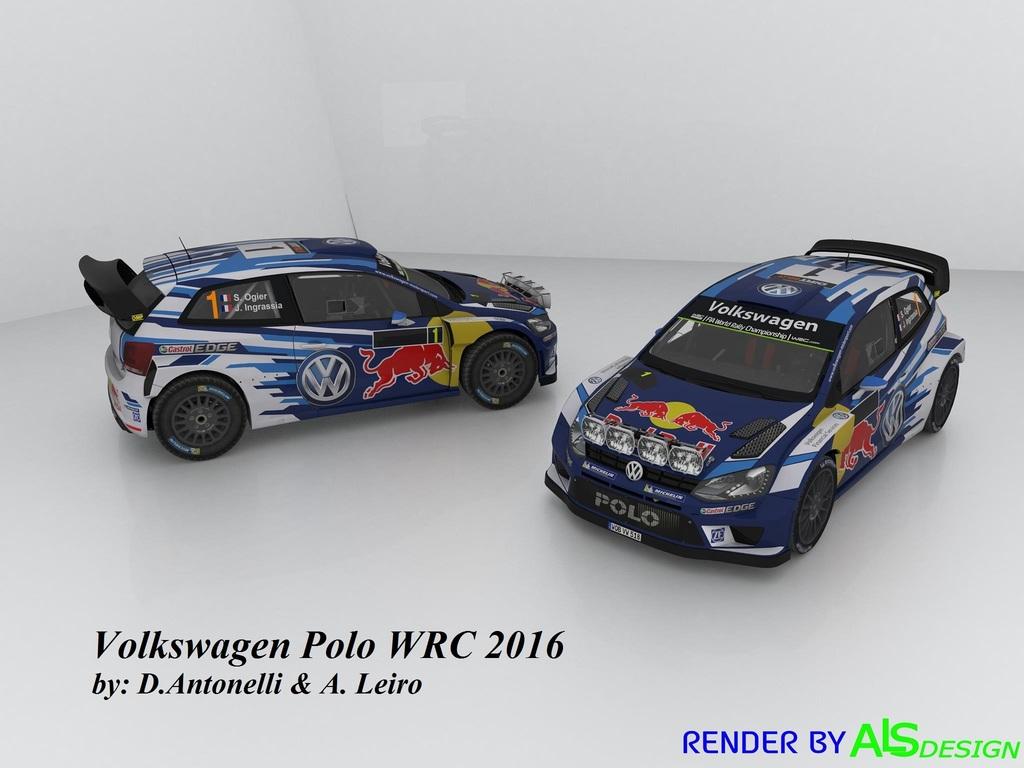 Rbr Volkswagen Polo R Wrc 2016