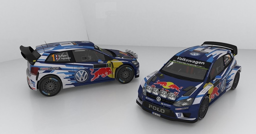 rbr volkswagen polo r wrc 2016. Black Bedroom Furniture Sets. Home Design Ideas