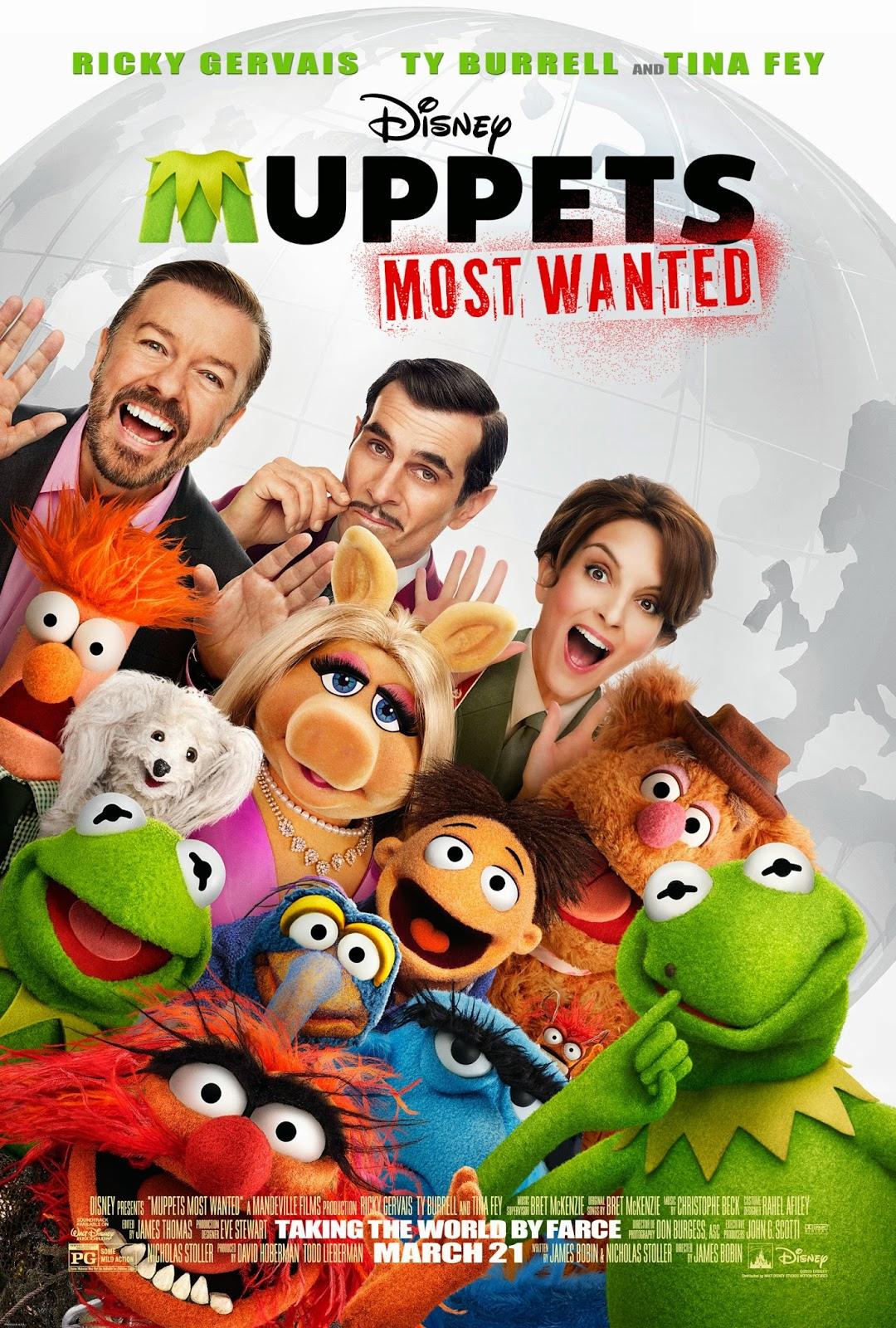 Muppets Most Wanted หุ่นมหาสนุก 2 [HD][พากย์ไทย]