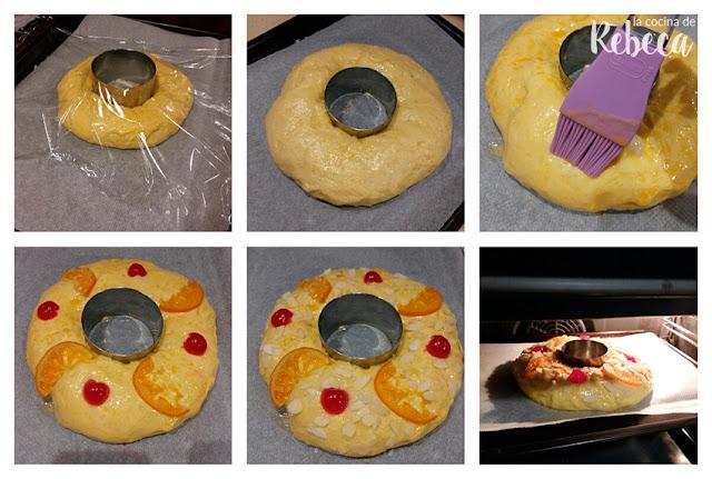 Receta de roscón de Reyes con Thermomix 08