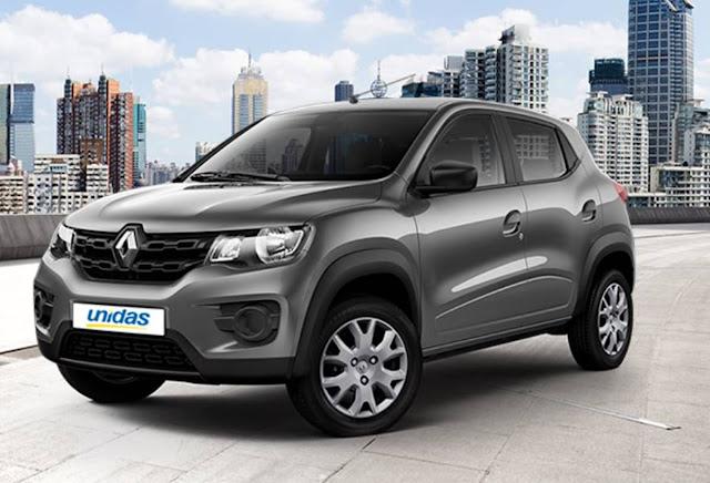 Renault Kwid chega a locadora Unidas - preços e detalhes
