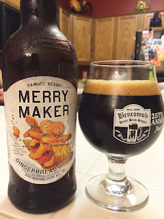 Samuel Adams Merry Maker Gingerbread Stout 1