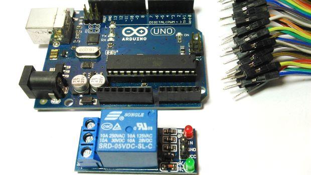 Arduino Relay Switch Box