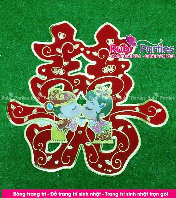 Cua hang phu kien trang tri phong cuoi tai Son Tay
