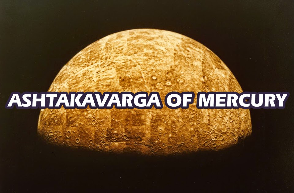 The Ashtakavarga of Mercury