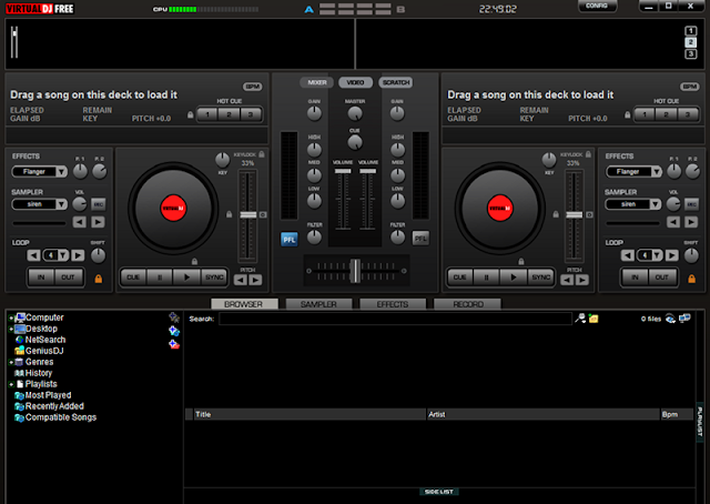 [ Screenshot ] Virtual DJ Free | PC