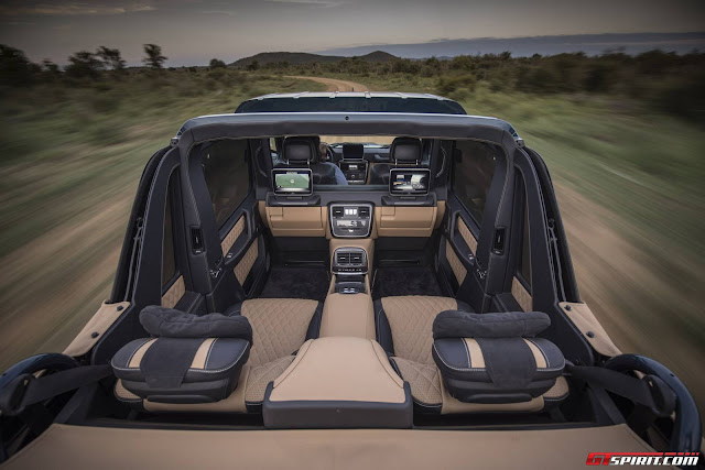 Mercedes-Maybach G650 Landaulet Interior