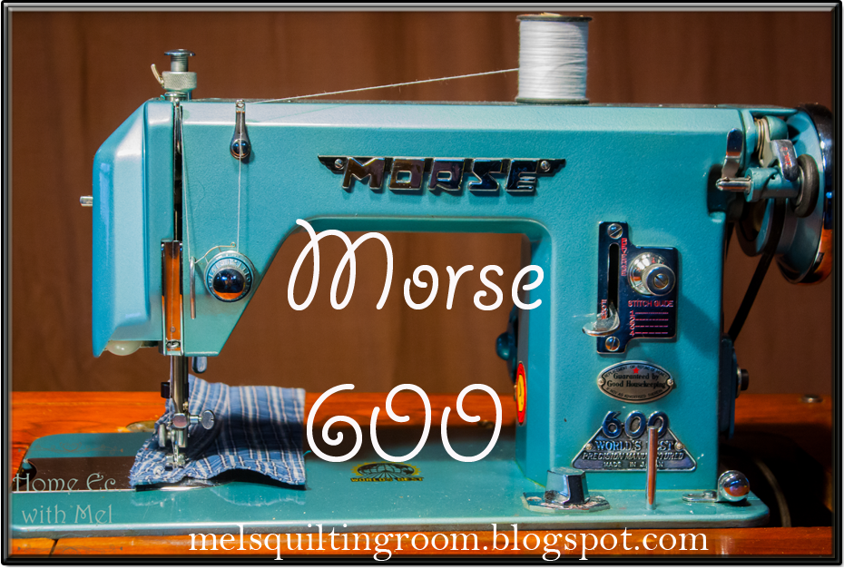 morse 600 vintage sewing machine the quilting room with mel rh quiltingroomwithmel com Threading a Sewing Machine Sewing Machine Bobbin Threading Diagrams