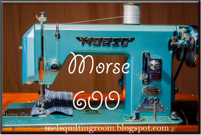 morse 600 sewing machine