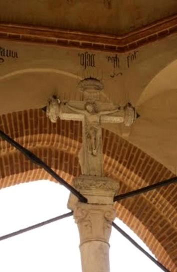 Detalle de la Cruz con Cristo