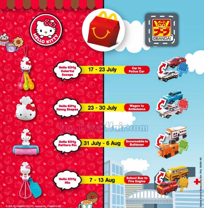 Hello Kitty Happy Meal Toys 92