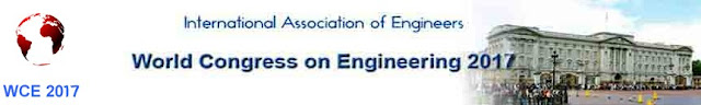 The 25th World Congress on Engineering (WCE 2017)