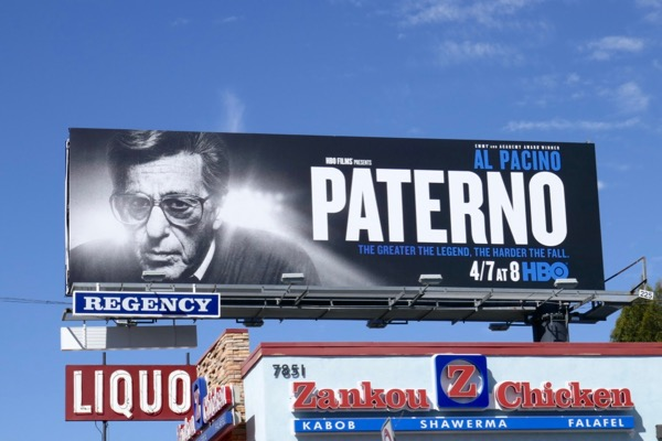 Paterno HBO movie billboard