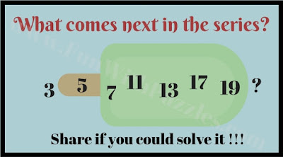 Easy Number Picture Puzzle to find next number in sequence