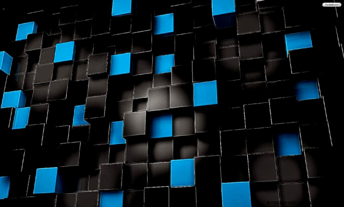 a136b01e216 Wallpaper Black Blue