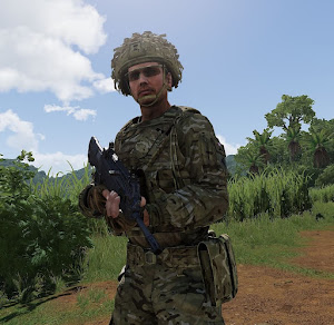 Arma3用英軍のBirtus装備MOD