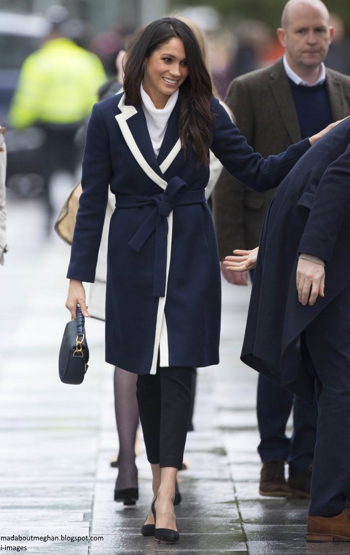 Prince Harry and Megan Markle in Birmingham 93